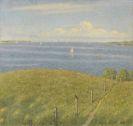Hansen, Sophus - Oil on canvas
