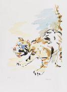 Oskar Kokoschka - Tigerkatze