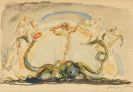 Slevogt, Max - Der Ritt auf dem Tintenfisch