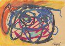 Appel, Karel - Colored chalk