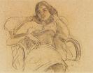 Hofer, Karl - Chalk drawing