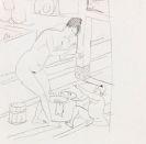 Kirchner, Ernst Ludwig - Bleistiftzeichnung