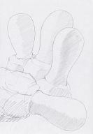 Cragg, Tony - Bleistiftzeichnung