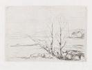 Edvard Munch - Norwegische Landschaft