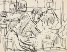 Kirchner, Ernst Ludwig - Pen and India ink drawing