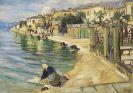 Arnold Balwé - Wäscherinnen am Lago Maggiore