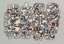 Jean Dubuffet - Quatre personnages