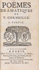 Pierre Corneille - Le Theatre. Poems. 9 Bände