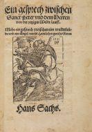 Hans Sachs - Ein gesprech