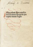 Henricus de Herp - Speculum aureum de preceptis divine legis