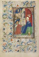 Manuskripte - Stundenbuch. Flandern um 1460