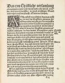 Martin Luther - Eyn christliche Versamlung oder gemeyne
