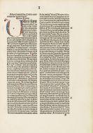 Bernardus Claravellensis - Sermones super Cantica. - Holkot, Super sapientiam. 2 in 1 Band