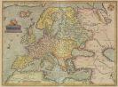 Ortelius, Abraham - 4 Landkarten: Europa, Italien, Griechenland, Frankreich