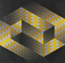 Victor Vasarely - 2 Farbserigrafien