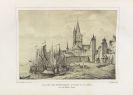 Sulpiz Boisserée - Nieder-Rhein. - Tanner, Vues du Rhin. 2 Werke