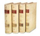 Johann Jakob Scheuchzer - Physica Sacra, 4 Bände
