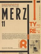 Kurt Schwitters - Merz 11. Typoreklame