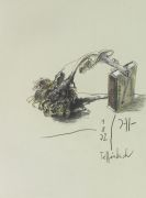 Horst Janssen - 3 Werke. Zus. mit 1 Orig.-Zeichnung und 2 Orig.-Radierungen