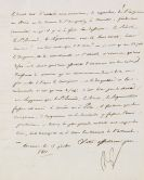 Napoleon Bonaparte - Brief an Eugene de Beauharnais