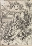 Albrecht Dürer - Die Hl. Familie mit den Hasen