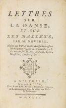 Jean Georges Noverre - Lettres sur la danse, et sur les ballets