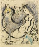 Marc Chagall - La Nymphe bleue