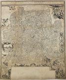 Matteo Gregorio de Rossi - Nuova pianta di Roma presente (Plan von Rom)