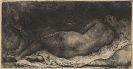 Harmensz. Rembrandt van Rijn - La negresse couché