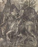 Albrecht Dürer - Ritter, Tod und Teufel