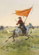 Josef von Brandt - Standartenreiter auf dem Schlachtfeld