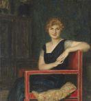 Franz von Stuck - Bildnis einer Dame