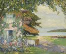 Edward Cucuel - Die Villa des Künstlers am Starnberger See (Das Sommerhaus)