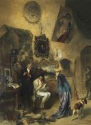 Kuehl, Gotthardt - Beim Antiquar