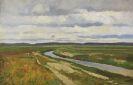 Fritz Overbeck - Moorkanal in der Hammeniederung