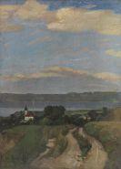 Christian Landenberger - Dießen am Ammersee (St. Alban von Westen III)
