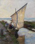 Koester, Alexander - Segelboot, Holland