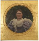 Alexander Koester - Porträt einer Tante des Malers