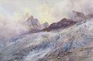 Edward Theodore Compton - Finsteraarhorn vom Rhônegletscher