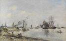 Jongkind, Johan Barthold - L'Escaut près d'Anvers