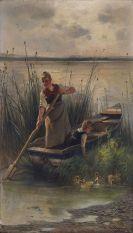 Karl Raupp - Am Ufer des Chiemsees