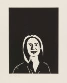 Alex Katz - You Smile and the Angels Sing