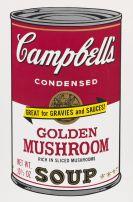 Andy Warhol - Golden Mushroom