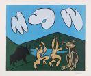Pablo Picasso - Bacchanale au Taureau Noir