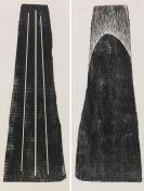 Hans Hartung - Gemeinschaftsarbeit mit Anna-Eva Bergman (1909-1987). H1973-24 / GB 42 1-1973 (2-teilig)