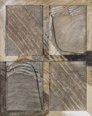 Gerhard Hoehme - Mehrebenenfenster (4-teilig)