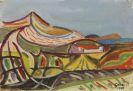 Werner Gilles - Landschaft auf Ischia