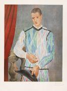 Pablo Picasso - Harlequin