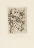 Kandinsky, Wassily - Radierung für die