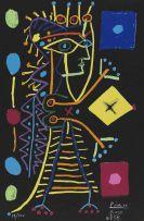 Pablo Picasso - Jacqueline (La Dame aux Dés)